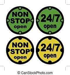 non stop open