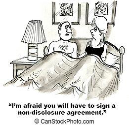 non-ujawnią, porozumienie