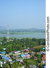 non-urbano, kwai fiume, vista
