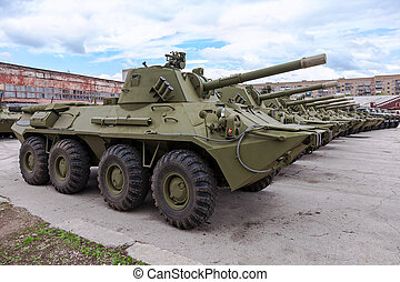 nona-svk, self-propelled, gevär