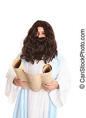 none, semelhante, scriptures, jesus, outro, leitura, raio