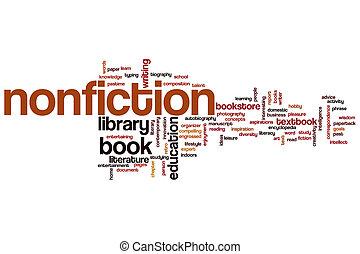 Nonfiction word cloud
