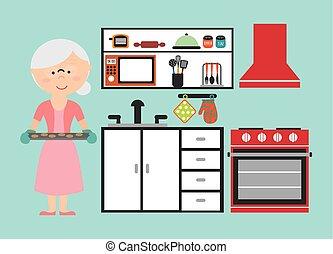 nonna, cottura