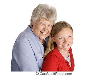 nonna, &, nipote