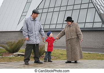nonni, nipote