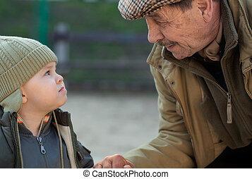 nonno, nipote