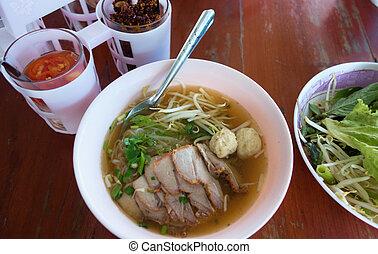 noodle soup - thai noodle soup