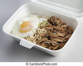 noodle, take away