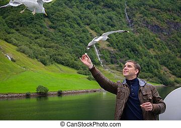 noor, reis, door, fjords.