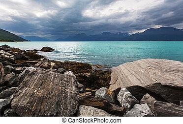 noordelijk, noorwegen