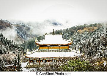 noorden, tempel, china