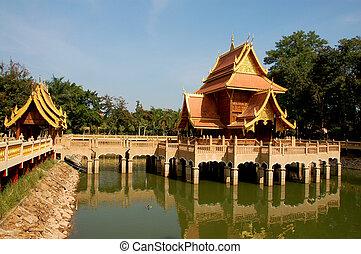 noorden, tempel, thailand