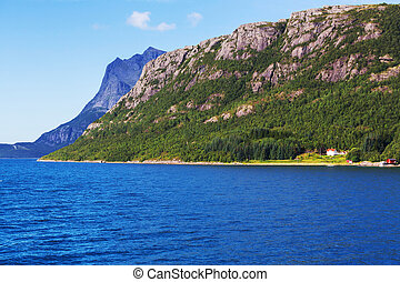 noorwegen, landschappen