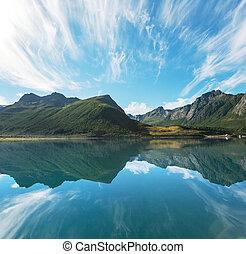 noorwegen, noordelijk