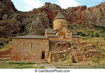 The holy Noravank monastery, 13th century, Armenia