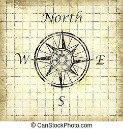 nord, flèche