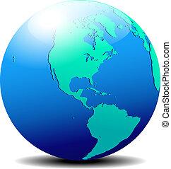 nord, &, global, mondiale, amérique, sud