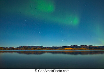 nord, lac, lumières, couleurs, calme, automne