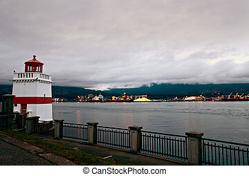 nord, stanley, vancouver, parc