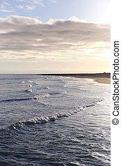 nordic relaxing sea