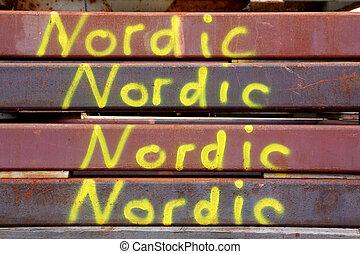 Nordic Rusty Steel