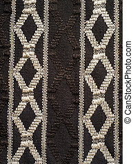 nordic style pattern knitted fabric