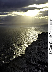 Nordkapp midnight sun Norway Travel destination