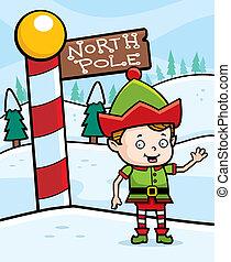 nordpol, weihnachtshelfer