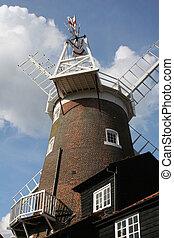 Windmill in Norfolk , England
