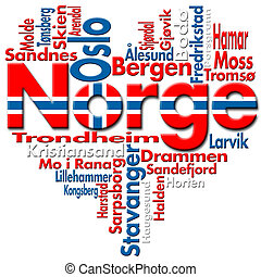 norge, amor, (norway)