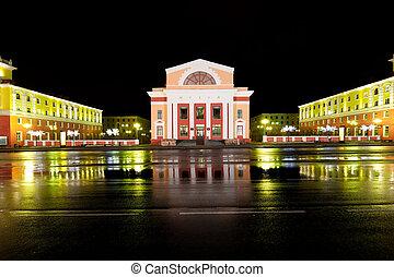 Norilsk at night