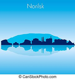 Norilsk Vector skyline