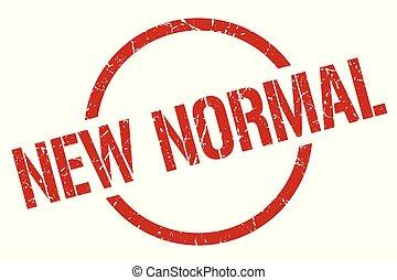 normal, briefmarke, neu