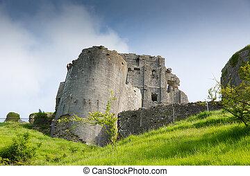 Norman Corfe Castle Dorset English