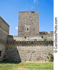 norman-swabian, castle., bari., apulia