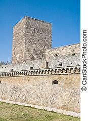 norman-, swabian, castle., bari., apulia.