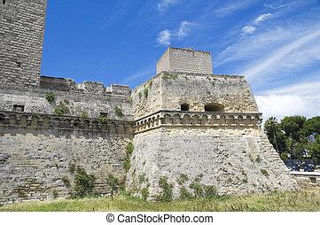 Norman-Swabian Castle. Bari. Apulia.