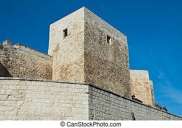 Norman- Swabian Castle. Sannicandro di Bari. Apulia.