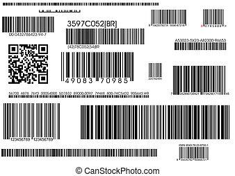 norme, expédition, barcode, barcodes