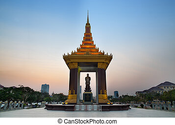 """Norodom Sihanouk was the King of Cambodia from 1941 to 1955 and again from 1993 to 2004, he was known as """"The King-Father of Cambodia"""""""