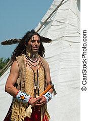 norte-americano, indianas