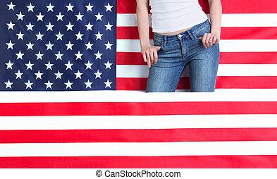 norteamericano