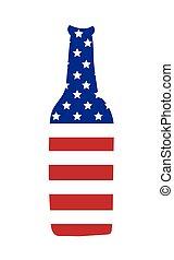 norteamericano, cerveza