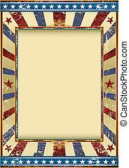 norteamericano, circo, grunge