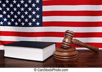 norteamericano, ley