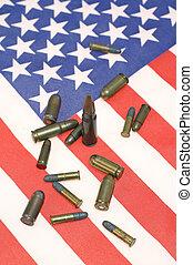 norteamericano, munición