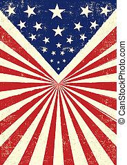 norteamericano, retro