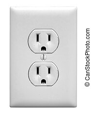 North America Electrical Outlet - A north american...