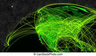 North America network
