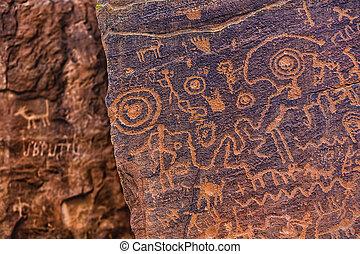 North American Petroglyph